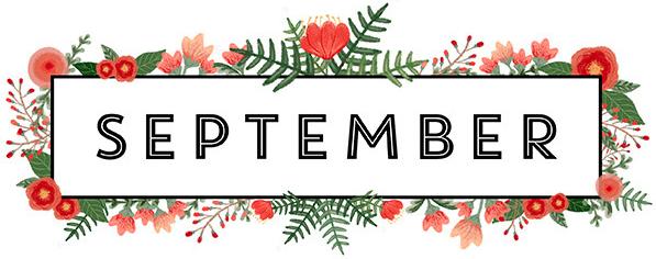 Calendar september. The arc nw